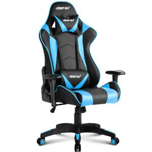 Merax PP033082CAA Gaming High Back Computer Ergonomic Design Racing Chair